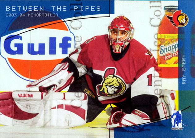 2003-04 BAP Memorabilia Sapphire #154 Ray Emery<br/>1 In Stock - $5.00 each - <a href=https://centericecollectibles.foxycart.com/cart?name=2003-04%20BAP%20Memorabilia%20Sapphire%20%23154%20Ray%20Emery...&quantity_max=1&price=$5.00&code=305129 class=foxycart> Buy it now! </a>