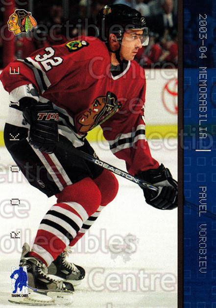 2003-04 BAP Memorabilia Sapphire #188 Pavel Vorobiev<br/>1 In Stock - $5.00 each - <a href=https://centericecollectibles.foxycart.com/cart?name=2003-04%20BAP%20Memorabilia%20Sapphire%20%23188%20Pavel%20Vorobiev...&quantity_max=1&price=$5.00&code=305159 class=foxycart> Buy it now! </a>
