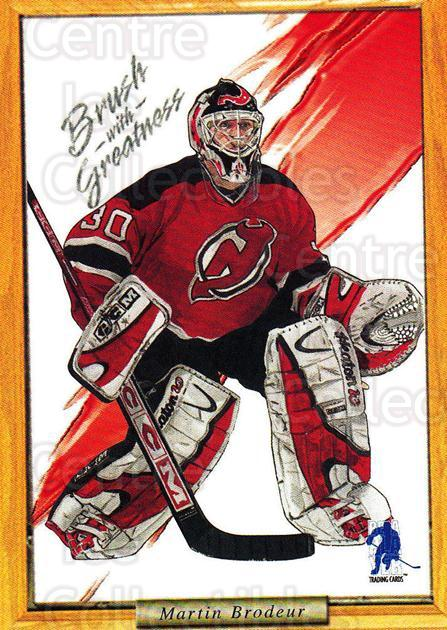 2003-04 BAP Memorabilia Brush with Greatness Contest Card #2 Martin Brodeur<br/>3 In Stock - $2.00 each - <a href=https://centericecollectibles.foxycart.com/cart?name=2003-04%20BAP%20Memorabilia%20Brush%20with%20Greatness%20Contest%20Card%20%232%20Martin%20Brodeur...&price=$2.00&code=305172 class=foxycart> Buy it now! </a>