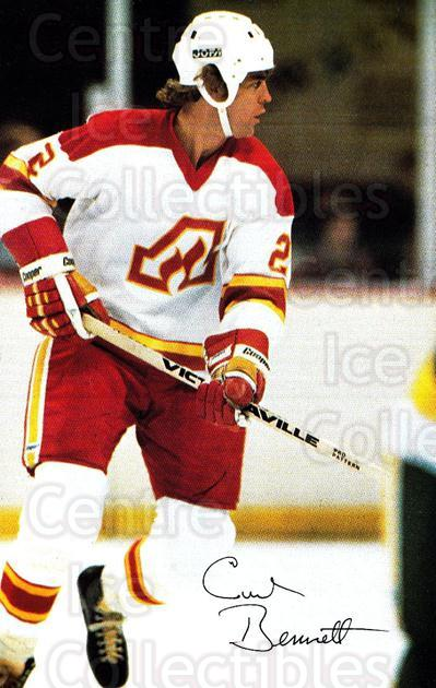 1979-80 Atlanta Flames Postcards #1 Curt Bennett<br/>1 In Stock - $5.00 each - <a href=https://centericecollectibles.foxycart.com/cart?name=1979-80%20Atlanta%20Flames%20Postcards%20%231%20Curt%20Bennett...&quantity_max=1&price=$5.00&code=30523 class=foxycart> Buy it now! </a>