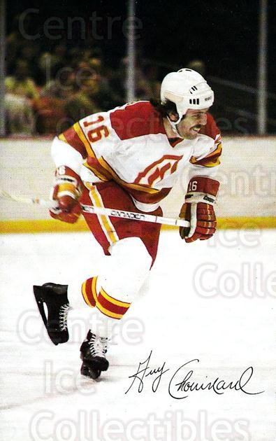 1979-80 Atlanta Flames Postcards #3 Guy Chouinard<br/>2 In Stock - $5.00 each - <a href=https://centericecollectibles.foxycart.com/cart?name=1979-80%20Atlanta%20Flames%20Postcards%20%233%20Guy%20Chouinard...&quantity_max=2&price=$5.00&code=30532 class=foxycart> Buy it now! </a>