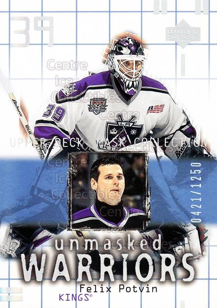2001-02 UD Mask Collection #179 Felix Potvin<br/>2 In Stock - $3.00 each - <a href=https://centericecollectibles.foxycart.com/cart?name=2001-02%20UD%20Mask%20Collection%20%23179%20Felix%20Potvin...&quantity_max=2&price=$3.00&code=305397 class=foxycart> Buy it now! </a>
