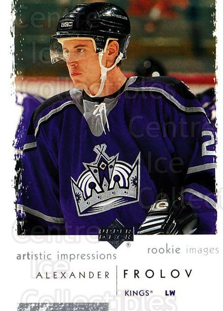 2002-03 UD Artistic Impressions #121 Alexander Frolov<br/>3 In Stock - $3.00 each - <a href=https://centericecollectibles.foxycart.com/cart?name=2002-03%20UD%20Artistic%20Impressions%20%23121%20Alexander%20Frolo...&quantity_max=3&price=$3.00&code=305418 class=foxycart> Buy it now! </a>
