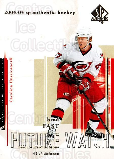 2004-05 SP Authentic #91 Brad Fast<br/>3 In Stock - $3.00 each - <a href=https://centericecollectibles.foxycart.com/cart?name=2004-05%20SP%20Authentic%20%2391%20Brad%20Fast...&quantity_max=3&price=$3.00&code=305499 class=foxycart> Buy it now! </a>