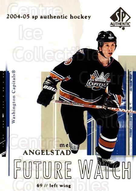 2004-05 SP Authentic #94 Mel Angelstad<br/>6 In Stock - $3.00 each - <a href=https://centericecollectibles.foxycart.com/cart?name=2004-05%20SP%20Authentic%20%2394%20Mel%20Angelstad...&quantity_max=6&price=$3.00&code=305501 class=foxycart> Buy it now! </a>