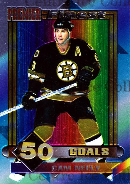 1994-95 Topps Premier Finest #8 Cam Neely<br/>2 In Stock - $2.00 each - <a href=https://centericecollectibles.foxycart.com/cart?name=1994-95%20Topps%20Premier%20Finest%20%238%20Cam%20Neely...&quantity_max=2&price=$2.00&code=305775 class=foxycart> Buy it now! </a>