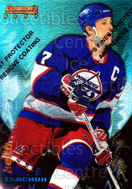 1994-95 Finest Bowmans Best Blue Refractors #17 Keith Tkachuk<br/>1 In Stock - $10.00 each - <a href=https://centericecollectibles.foxycart.com/cart?name=1994-95%20Finest%20Bowmans%20Best%20Blue%20Refractors%20%2317%20Keith%20Tkachuk...&quantity_max=1&price=$10.00&code=306082 class=foxycart> Buy it now! </a>