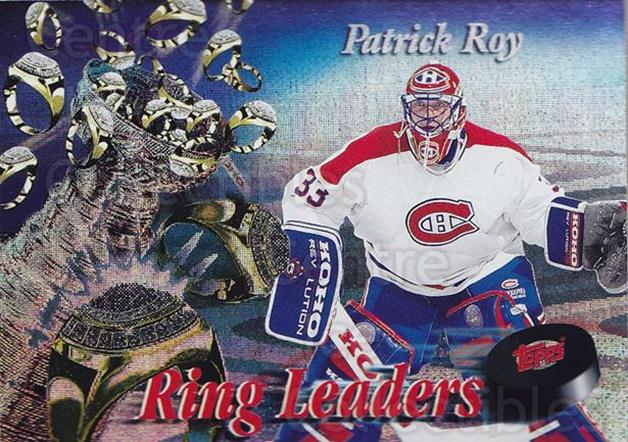 1994-95 Finest Ring Leaders #14 Patrick Roy<br/>1 In Stock - $15.00 each - <a href=https://centericecollectibles.foxycart.com/cart?name=1994-95%20Finest%20Ring%20Leaders%20%2314%20Patrick%20Roy...&quantity_max=1&price=$15.00&code=306159 class=foxycart> Buy it now! </a>