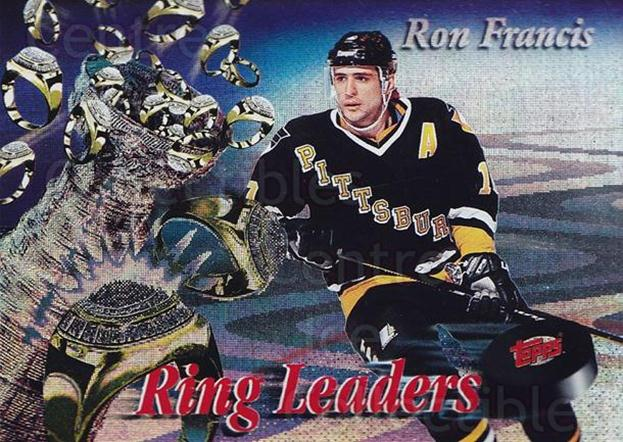 1994-95 Finest Ring Leaders #16 Ron Francis<br/>1 In Stock - $5.00 each - <a href=https://centericecollectibles.foxycart.com/cart?name=1994-95%20Finest%20Ring%20Leaders%20%2316%20Ron%20Francis...&quantity_max=1&price=$5.00&code=306161 class=foxycart> Buy it now! </a>