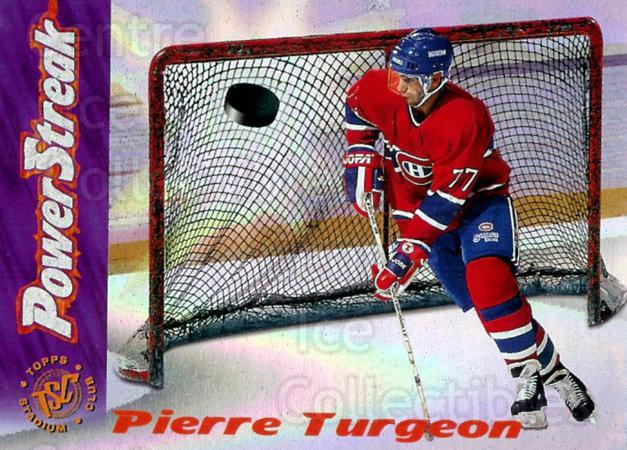 1995-96 Stadium Club Power Streak #1 Pierre Turgeon<br/>7 In Stock - $2.00 each - <a href=https://centericecollectibles.foxycart.com/cart?name=1995-96%20Stadium%20Club%20Power%20Streak%20%231%20Pierre%20Turgeon...&quantity_max=7&price=$2.00&code=306170 class=foxycart> Buy it now! </a>