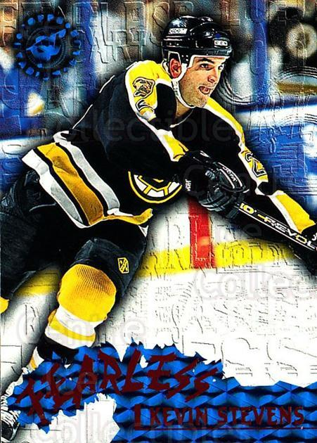 1995-96 Stadium Club Fearless #6 Kevin Stevens<br/>2 In Stock - $3.00 each - <a href=https://centericecollectibles.foxycart.com/cart?name=1995-96%20Stadium%20Club%20Fearless%20%236%20Kevin%20Stevens...&quantity_max=2&price=$3.00&code=306196 class=foxycart> Buy it now! </a>