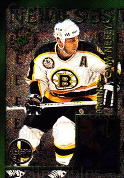 1995-96 Stadium Club Nemeses Members Only #3 Claude Lemieux, Cam Neely<br/>2 In Stock - $5.00 each - <a href=https://centericecollectibles.foxycart.com/cart?name=1995-96%20Stadium%20Club%20Nemeses%20Members%20Only%20%233%20Claude%20Lemieux,...&quantity_max=2&price=$5.00&code=306224 class=foxycart> Buy it now! </a>