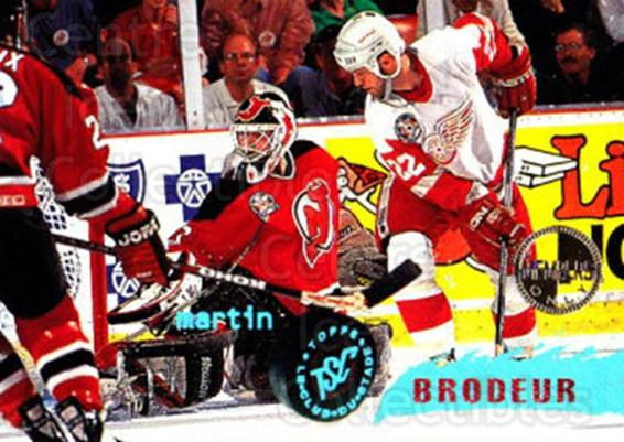 1995-96 Stadium Club Members Only #85 Martin Brodeur<br/>1 In Stock - $10.00 each - <a href=https://centericecollectibles.foxycart.com/cart?name=1995-96%20Stadium%20Club%20Members%20Only%20%2385%20Martin%20Brodeur...&price=$10.00&code=306234 class=foxycart> Buy it now! </a>