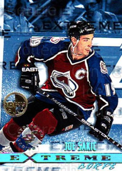 1995-96 Stadium Club Members Only #167 Joe Sakic<br/>2 In Stock - $10.00 each - <a href=https://centericecollectibles.foxycart.com/cart?name=1995-96%20Stadium%20Club%20Members%20Only%20%23167%20Joe%20Sakic...&quantity_max=2&price=$10.00&code=306240 class=foxycart> Buy it now! </a>