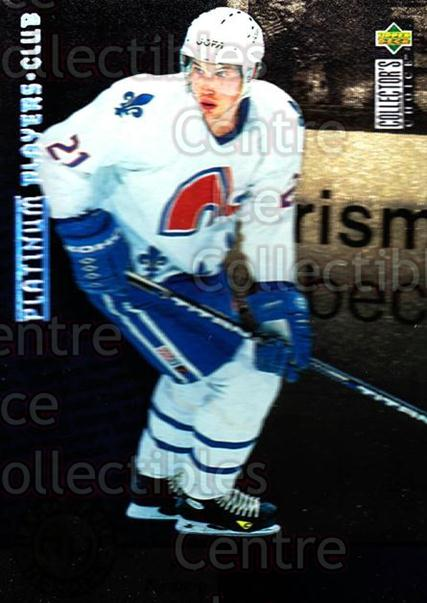 1995-96 Collectors Choice Players Club Platinum #371 Peter Forsberg<br/>3 In Stock - $5.00 each - <a href=https://centericecollectibles.foxycart.com/cart?name=1995-96%20Collectors%20Choice%20Players%20Club%20Platinum%20%23371%20Peter%20Forsberg...&quantity_max=3&price=$5.00&code=306297 class=foxycart> Buy it now! </a>