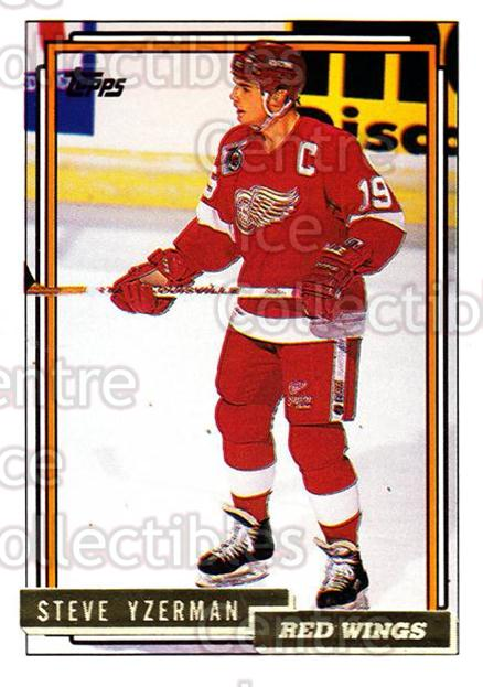 1992-93 Topps Gold #207 Steve Yzerman<br/>3 In Stock - $5.00 each - <a href=https://centericecollectibles.foxycart.com/cart?name=1992-93%20Topps%20Gold%20%23207%20Steve%20Yzerman...&price=$5.00&code=306352 class=foxycart> Buy it now! </a>