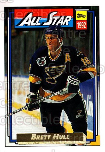 1992-93 Topps Gold #260 Brett Hull<br/>3 In Stock - $2.00 each - <a href=https://centericecollectibles.foxycart.com/cart?name=1992-93%20Topps%20Gold%20%23260%20Brett%20Hull...&quantity_max=3&price=$2.00&code=306355 class=foxycart> Buy it now! </a>
