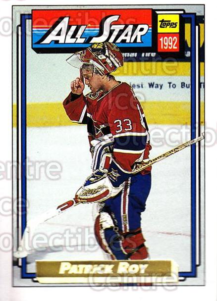 1992-93 Topps Gold #263 Patrick Roy<br/>1 In Stock - $5.00 each - <a href=https://centericecollectibles.foxycart.com/cart?name=1992-93%20Topps%20Gold%20%23263%20Patrick%20Roy...&price=$5.00&code=306356 class=foxycart> Buy it now! </a>