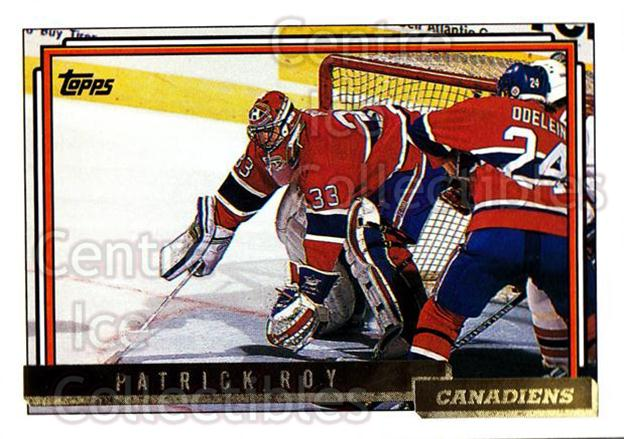 1992-93 Topps Gold #508 Patrick Roy<br/>1 In Stock - $10.00 each - <a href=https://centericecollectibles.foxycart.com/cart?name=1992-93%20Topps%20Gold%20%23508%20Patrick%20Roy...&price=$10.00&code=306367 class=foxycart> Buy it now! </a>
