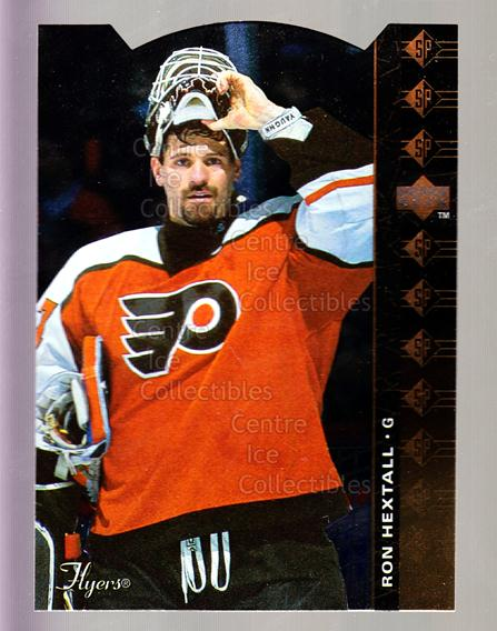1994-95 Upper Deck SP Inserts Die Cuts #147 Ron Hextall<br/>3 In Stock - $2.00 each - <a href=https://centericecollectibles.foxycart.com/cart?name=1994-95%20Upper%20Deck%20SP%20Inserts%20Die%20Cuts%20%23147%20Ron%20Hextall...&quantity_max=3&price=$2.00&code=306385 class=foxycart> Buy it now! </a>