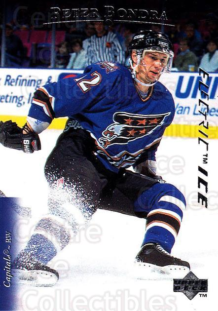 1995-96 Upper Deck Electric Ice #339 Peter Bondra<br/>3 In Stock - $2.00 each - <a href=https://centericecollectibles.foxycart.com/cart?name=1995-96%20Upper%20Deck%20Electric%20Ice%20%23339%20Peter%20Bondra...&quantity_max=3&price=$2.00&code=306392 class=foxycart> Buy it now! </a>