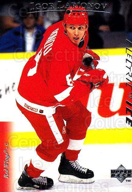 1995-96 Upper Deck Electric Ice #349 Igor Larionov<br/>6 In Stock - $2.00 each - <a href=https://centericecollectibles.foxycart.com/cart?name=1995-96%20Upper%20Deck%20Electric%20Ice%20%23349%20Igor%20Larionov...&quantity_max=6&price=$2.00&code=306393 class=foxycart> Buy it now! </a>
