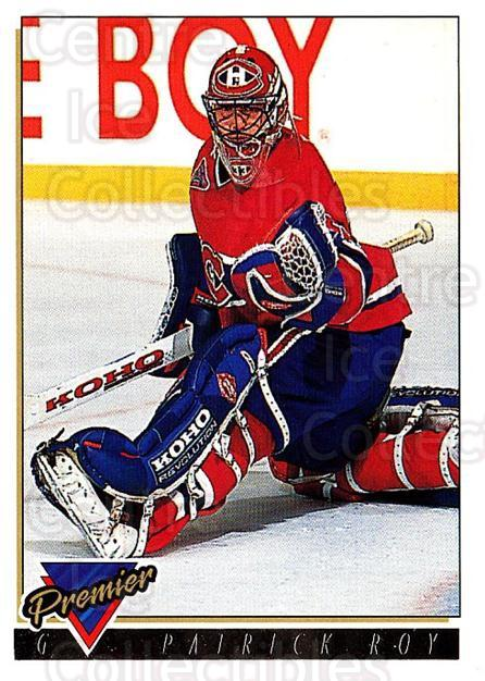 1993-94 Topps Premier Gold #1 Patrick Roy<br/>1 In Stock - $5.00 each - <a href=https://centericecollectibles.foxycart.com/cart?name=1993-94%20Topps%20Premier%20Gold%20%231%20Patrick%20Roy...&quantity_max=1&price=$5.00&code=306416 class=foxycart> Buy it now! </a>
