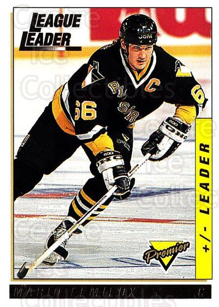 1993-94 Topps Premier Gold #37 Mario Lemieux<br/>1 In Stock - $5.00 each - <a href=https://centericecollectibles.foxycart.com/cart?name=1993-94%20Topps%20Premier%20Gold%20%2337%20Mario%20Lemieux...&quantity_max=1&price=$5.00&code=306419 class=foxycart> Buy it now! </a>