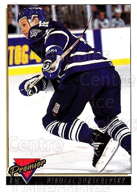 1993-94 Topps Premier Gold #107 Nikolai Borschevsky<br/>1 In Stock - $2.00 each - <a href=https://centericecollectibles.foxycart.com/cart?name=1993-94%20Topps%20Premier%20Gold%20%23107%20Nikolai%20Borsche...&quantity_max=1&price=$2.00&code=306423 class=foxycart> Buy it now! </a>