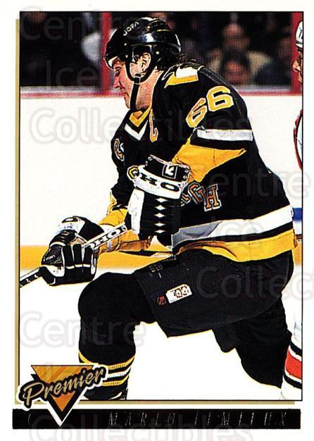 1993-94 Topps Premier Gold #220 Mario Lemieux<br/>1 In Stock - $5.00 each - <a href=https://centericecollectibles.foxycart.com/cart?name=1993-94%20Topps%20Premier%20Gold%20%23220%20Mario%20Lemieux...&quantity_max=1&price=$5.00&code=306432 class=foxycart> Buy it now! </a>