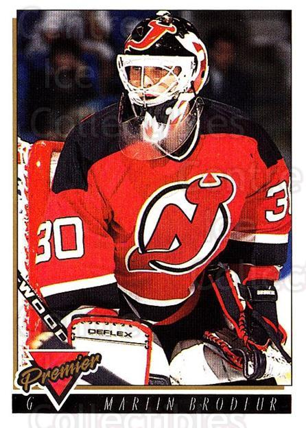 1993-94 Topps Premier Gold #401 Martin Brodeur<br/>1 In Stock - $3.00 each - <a href=https://centericecollectibles.foxycart.com/cart?name=1993-94%20Topps%20Premier%20Gold%20%23401%20Martin%20Brodeur...&price=$3.00&code=306444 class=foxycart> Buy it now! </a>