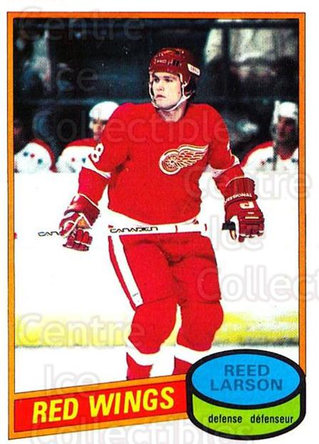 1980-81 O-Pee-Chee #43 Reed Larson<br/>4 In Stock - $2.00 each - <a href=https://centericecollectibles.foxycart.com/cart?name=1980-81%20O-Pee-Chee%20%2343%20Reed%20Larson...&quantity_max=4&price=$2.00&code=306521 class=foxycart> Buy it now! </a>