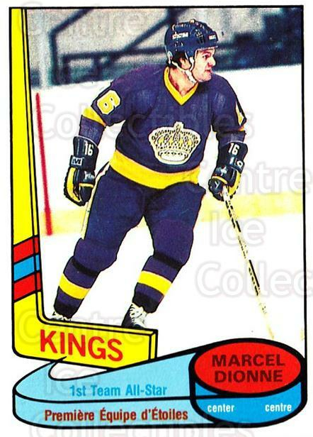 1980-81 O-Pee-Chee #81 Marcel Dionne<br/>2 In Stock - $3.00 each - <a href=https://centericecollectibles.foxycart.com/cart?name=1980-81%20O-Pee-Chee%20%2381%20Marcel%20Dionne...&quantity_max=2&price=$3.00&code=306546 class=foxycart> Buy it now! </a>