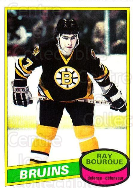 1980-81 O-Pee-Chee #140 Ray Bourque<br/>1 In Stock - $80.00 each - <a href=https://centericecollectibles.foxycart.com/cart?name=1980-81%20O-Pee-Chee%20%23140%20Ray%20Bourque...&quantity_max=1&price=$80.00&code=306573 class=foxycart> Buy it now! </a>