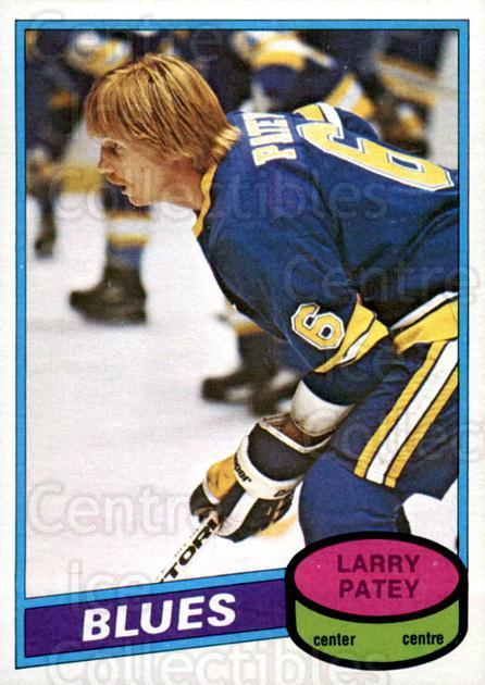 1980-81 O-Pee-Chee #310 Larry Patey<br/>1 In Stock - $2.00 each - <a href=https://centericecollectibles.foxycart.com/cart?name=1980-81%20O-Pee-Chee%20%23310%20Larry%20Patey...&quantity_max=1&price=$2.00&code=306639 class=foxycart> Buy it now! </a>