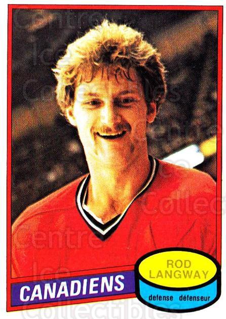 1980-81 O-Pee-Chee #344 Rod Langway<br/>1 In Stock - $5.00 each - <a href=https://centericecollectibles.foxycart.com/cart?name=1980-81%20O-Pee-Chee%20%23344%20Rod%20Langway...&price=$5.00&code=306650 class=foxycart> Buy it now! </a>