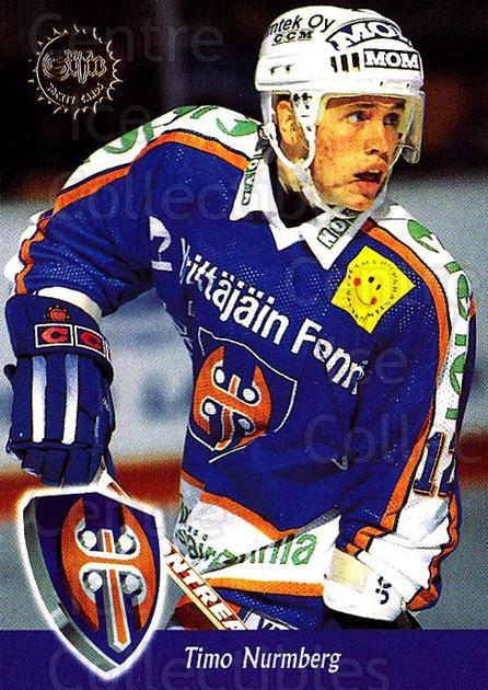 1994-95 Finnish SISU #239 Timo Nurmberg<br/>4 In Stock - $2.00 each - <a href=https://centericecollectibles.foxycart.com/cart?name=1994-95%20Finnish%20SISU%20%23239%20Timo%20Nurmberg...&quantity_max=4&price=$2.00&code=30668 class=foxycart> Buy it now! </a>