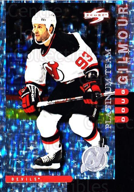 1997-98 Score New Jersey Devils Platinum #1 Doug Gilmour<br/>1 In Stock - $5.00 each - <a href=https://centericecollectibles.foxycart.com/cart?name=1997-98%20Score%20New%20Jersey%20Devils%20Platinum%20%231%20Doug%20Gilmour...&quantity_max=1&price=$5.00&code=306922 class=foxycart> Buy it now! </a>