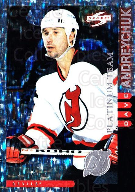 1997-98 Score New Jersey Devils Platinum #3 Dave Andreychuk<br/>1 In Stock - $5.00 each - <a href=https://centericecollectibles.foxycart.com/cart?name=1997-98%20Score%20New%20Jersey%20Devils%20Platinum%20%233%20Dave%20Andreychuk...&quantity_max=1&price=$5.00&code=306924 class=foxycart> Buy it now! </a>