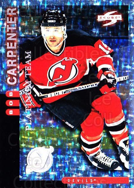 1997-98 Score New Jersey Devils Platinum #18 Bob Carpenter<br/>1 In Stock - $5.00 each - <a href=https://centericecollectibles.foxycart.com/cart?name=1997-98%20Score%20New%20Jersey%20Devils%20Platinum%20%2318%20Bob%20Carpenter...&quantity_max=1&price=$5.00&code=306935 class=foxycart> Buy it now! </a>