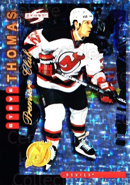1997-98 Score New Jersey Devils Premiere Club #10 Steve Thomas<br/>1 In Stock - $10.00 each - <a href=https://centericecollectibles.foxycart.com/cart?name=1997-98%20Score%20New%20Jersey%20Devils%20Premiere%20Club%20%2310%20Steve%20Thomas...&quantity_max=1&price=$10.00&code=306947 class=foxycart> Buy it now! </a>