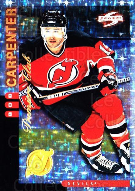 1997-98 Score New Jersey Devils Premiere Club #18 Bob Carpenter<br/>1 In Stock - $10.00 each - <a href=https://centericecollectibles.foxycart.com/cart?name=1997-98%20Score%20New%20Jersey%20Devils%20Premiere%20Club%20%2318%20Bob%20Carpenter...&quantity_max=1&price=$10.00&code=306954 class=foxycart> Buy it now! </a>