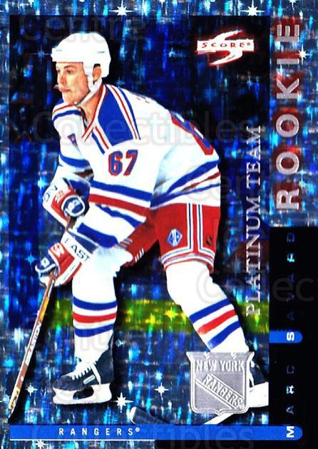 1997-98 Score New York Rangers Platinum #19 Marc Savard<br/>1 In Stock - $5.00 each - <a href=https://centericecollectibles.foxycart.com/cart?name=1997-98%20Score%20New%20York%20Rangers%20Platinum%20%2319%20Marc%20Savard...&quantity_max=1&price=$5.00&code=306971 class=foxycart> Buy it now! </a>