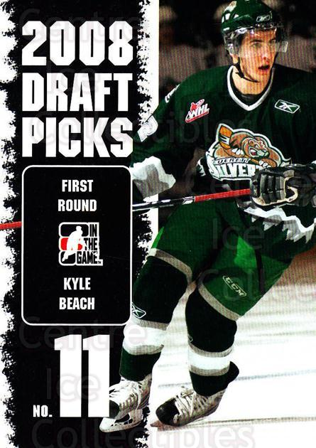 2008-09 ITG Heroes and Prospects Draft Picks #9 Kyle Beach<br/>8 In Stock - $2.00 each - <a href=https://centericecollectibles.foxycart.com/cart?name=2008-09%20ITG%20Heroes%20and%20Prospects%20Draft%20Picks%20%239%20Kyle%20Beach...&quantity_max=8&price=$2.00&code=307148 class=foxycart> Buy it now! </a>