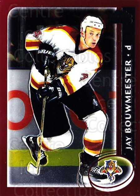 2002-03 Topps Chrome #177 Jay Bouwmeester<br/>1 In Stock - $2.00 each - <a href=https://centericecollectibles.foxycart.com/cart?name=2002-03%20Topps%20Chrome%20%23177%20Jay%20Bouwmeester...&quantity_max=1&price=$2.00&code=307211 class=foxycart> Buy it now! </a>