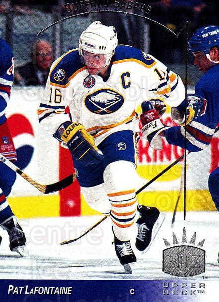 1993-94 Upper Deck SP #17 Pat LaFontaine<br/>2 In Stock - $1.00 each - <a href=https://centericecollectibles.foxycart.com/cart?name=1993-94%20Upper%20Deck%20SP%20%2317%20Pat%20LaFontaine...&quantity_max=2&price=$1.00&code=3073 class=foxycart> Buy it now! </a>