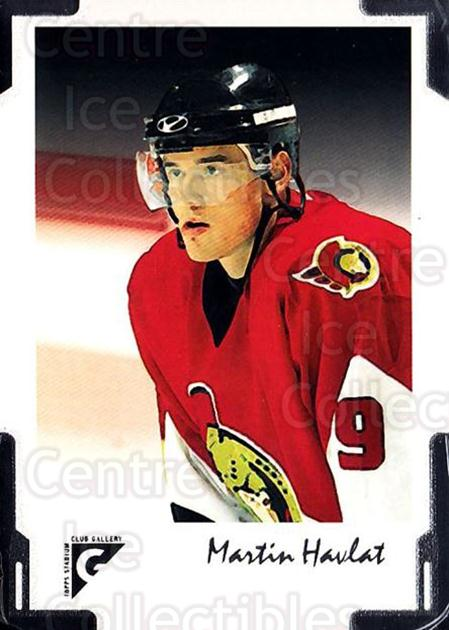 2001-02 Stadium Club Gallery #5 Martin Havlat<br/>2 In Stock - $2.00 each - <a href=https://centericecollectibles.foxycart.com/cart?name=2001-02%20Stadium%20Club%20Gallery%20%235%20Martin%20Havlat...&quantity_max=2&price=$2.00&code=307457 class=foxycart> Buy it now! </a>