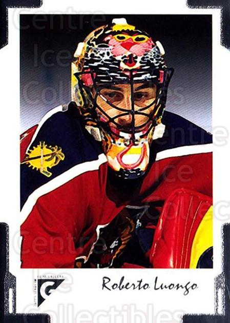 2001-02 Stadium Club Gallery #11 Roberto Luongo<br/>2 In Stock - $2.00 each - <a href=https://centericecollectibles.foxycart.com/cart?name=2001-02%20Stadium%20Club%20Gallery%20%2311%20Roberto%20Luongo...&quantity_max=2&price=$2.00&code=307460 class=foxycart> Buy it now! </a>