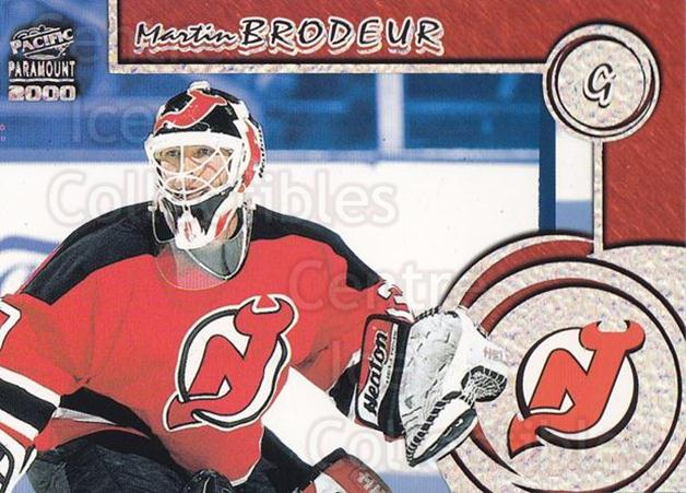 1999-00 Paramount Personal Best #21 Martin Brodeur<br/>1 In Stock - $3.00 each - <a href=https://centericecollectibles.foxycart.com/cart?name=1999-00%20Paramount%20Personal%20Best%20%2321%20Martin%20Brodeur...&price=$3.00&code=307702 class=foxycart> Buy it now! </a>