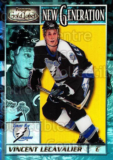 2000-01 Topps Gold Label New Generation #2 Vincent Lecavalier<br/>1 In Stock - $3.00 each - <a href=https://centericecollectibles.foxycart.com/cart?name=2000-01%20Topps%20Gold%20Label%20New%20Generation%20%232%20Vincent%20Lecaval...&quantity_max=1&price=$3.00&code=307740 class=foxycart> Buy it now! </a>